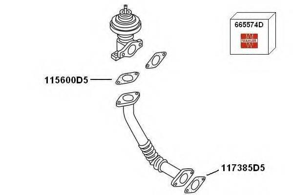 WAHLER 7900423 Рециркуляция ОГ