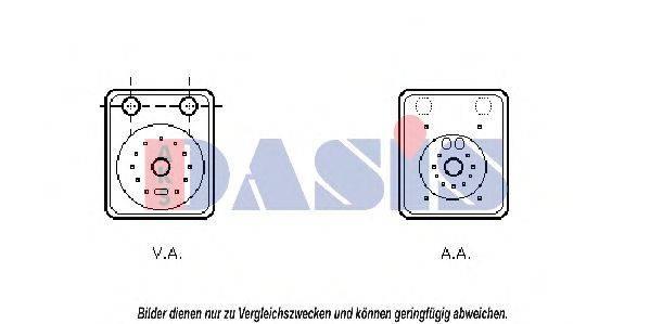 AKS DASIS 040024N Масляный радиатор