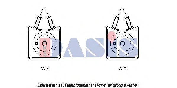 AKS DASIS 046000N Масляный радиатор