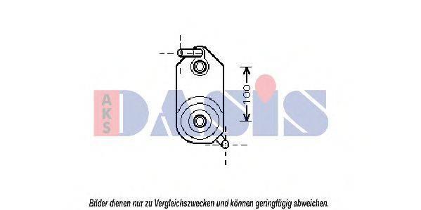 AKS DASIS 046009N Масляный радиатор, автоматическая коробка передач