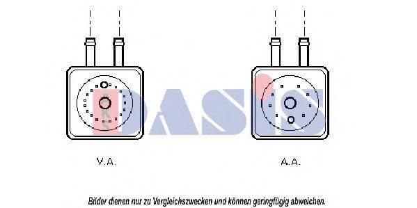 AKS DASIS 046120N Масляный радиатор