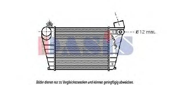 AKS DASIS 047014N Интеркулер