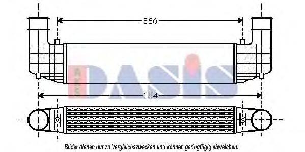 AKS DASIS 247010N Интеркулер