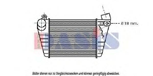 AKS DASIS 487170N Интеркулер