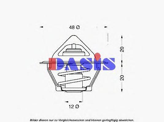 AKS DASIS 751795N Термостат