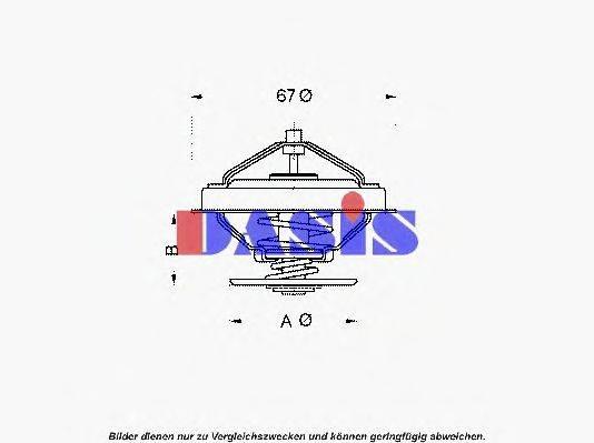AKS DASIS 751877N Термостат