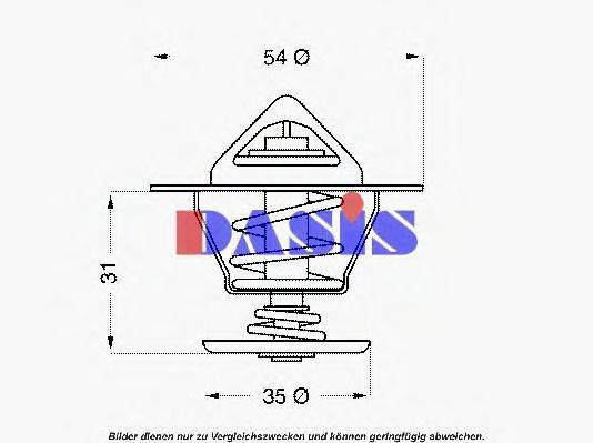 AKS DASIS 751945N Термостат