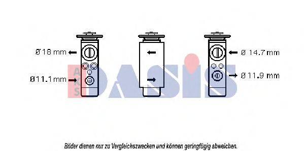 AKS DASIS 840005N Расширительный клапан кондиционера