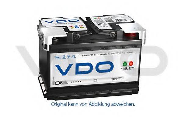 VDO A2C59520010D Аккумулятор автомобильный (АКБ)