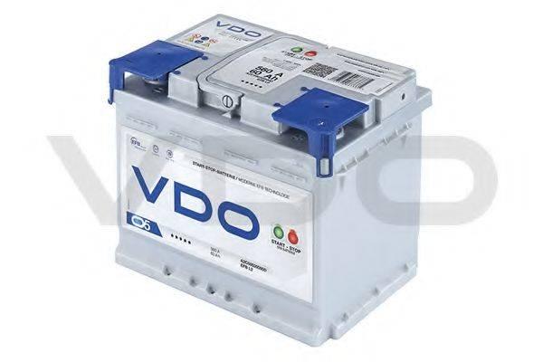 VDO A2C59520000D Аккумулятор автомобильный (АКБ)