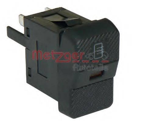 METZGER 0916039 Выключатель, обогреватель заднего стекла