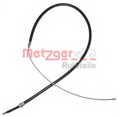 METZGER 107504 Трос, стояночная тормозная система