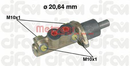METZGER 202039 Главный тормозной цилиндр