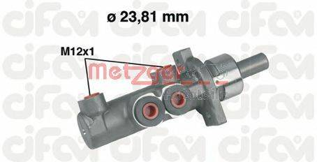 METZGER 202280 Главный тормозной цилиндр