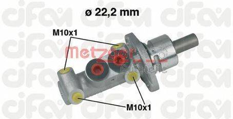 METZGER 202302 Главный тормозной цилиндр