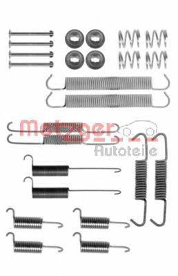 METZGER 1050712 Комплектующие, тормозная колодка