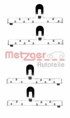 METZGER 1091048 Комплектующие, колодки дискового тормоза