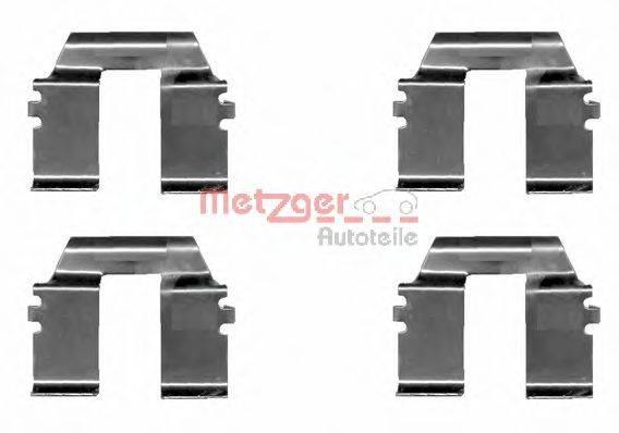 METZGER 1091232 Комплектующие, колодки дискового тормоза