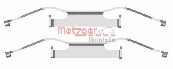 METZGER 1091680 Комплектующие, колодки дискового тормоза