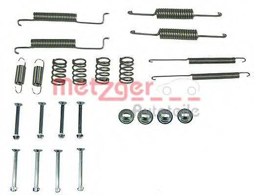 METZGER 1050569 Комплектующие, тормозная колодка