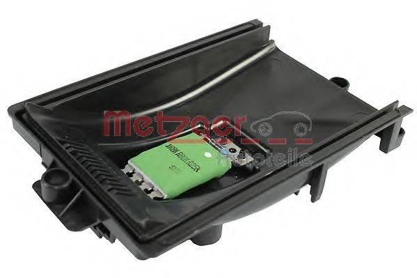 METZGER 0917032 Сопротивление, вентилятор салона
