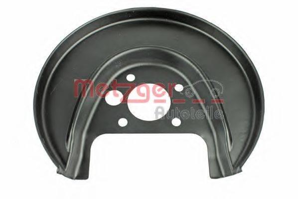 METZGER 6115002 Отражатель, диск тормозного механизма