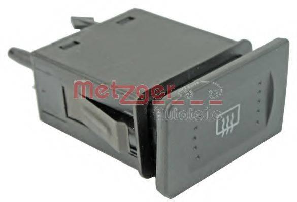 METZGER 0916274 Выключатель, обогреватель заднего стекла