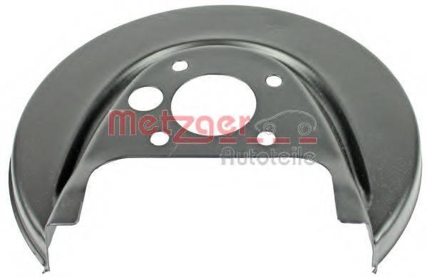 METZGER 6115001 Отражатель, диск тормозного механизма