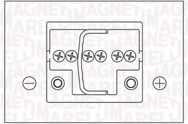 MAGNETI MARELLI 067300240005 Аккумулятор автомобильный (АКБ)