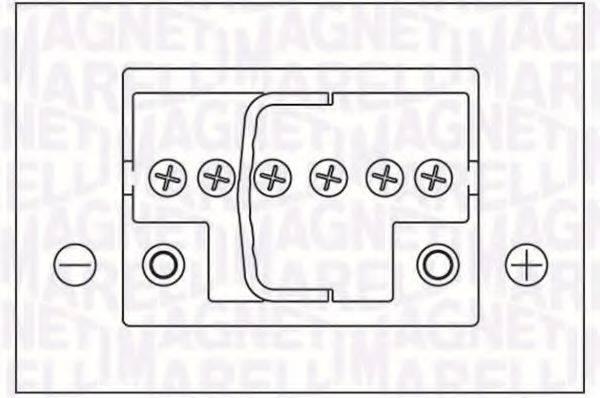 MAGNETI MARELLI 067300260005 Аккумулятор автомобильный (АКБ)
