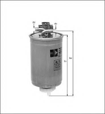 MAGNETI MARELLI 154087498220 Топливный фильтр