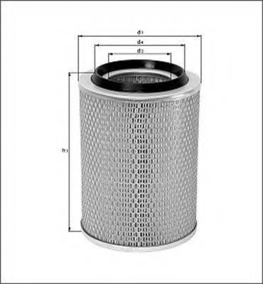 MAGNETI MARELLI 154071593460 Воздушный фильтр