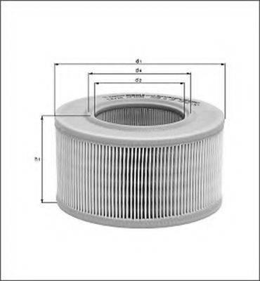 MAGNETI MARELLI 154074864750 Воздушный фильтр