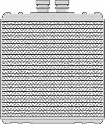 MAGNETI MARELLI 350218240000 Радиатор печки