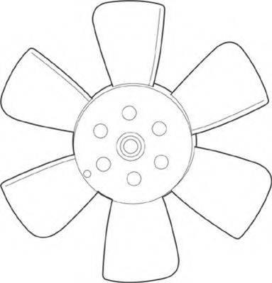 MAGNETI MARELLI 069422226010 Вентилятор системы охлаждения двигателя